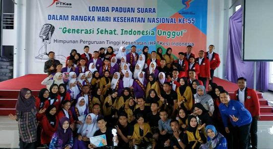Lomba Paduan Suara HPTKes Wilayah Lampung Pertama Kali di Universitas Aisyah Pringsewu