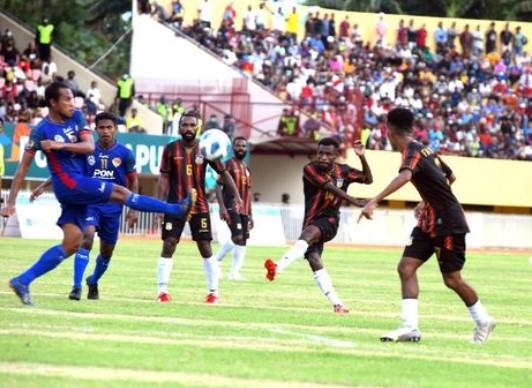 Kiper John Pigai Cetak Gol Pada PON XX Papua, Ini Faktanya infoyay