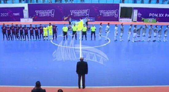 final futsal pon xx papua 2021 infoyay